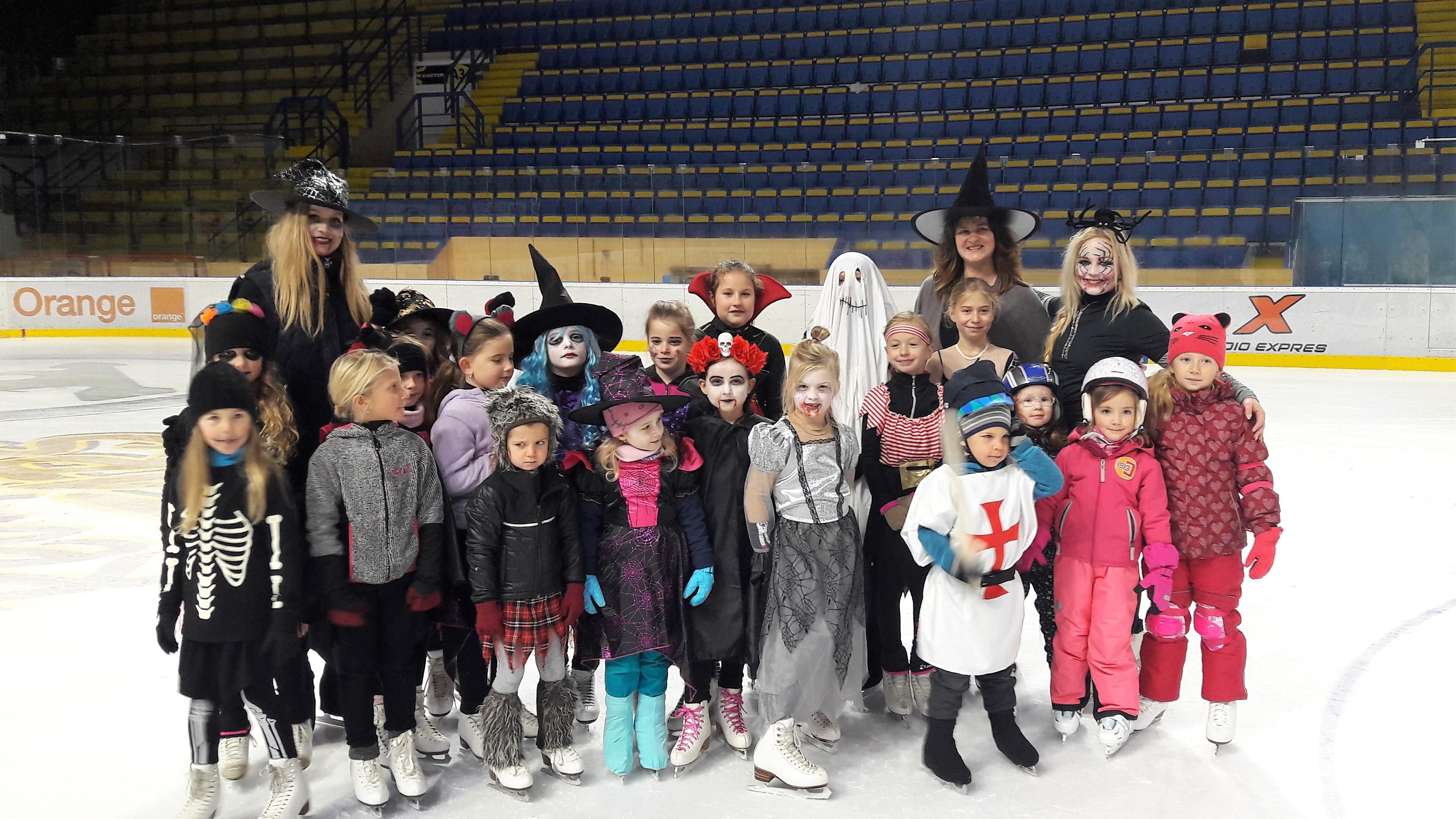 Halloween na ľade 2017