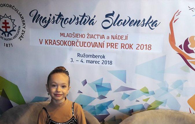 Paulína Beňová na Majstrovstvách Slovenska
